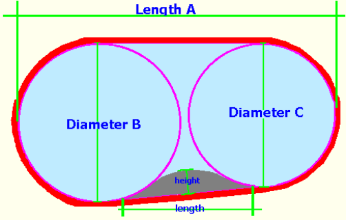 Volume calculator for a kidney shaped pool - How to calculate swimming pool volume ...