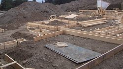 Footings Concrete Volume Calculator